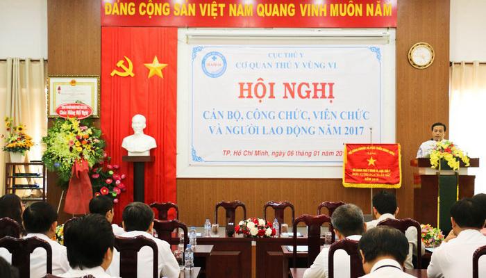 Hội nghị cán bộ, công chức viên chức và người lao động năm 2017