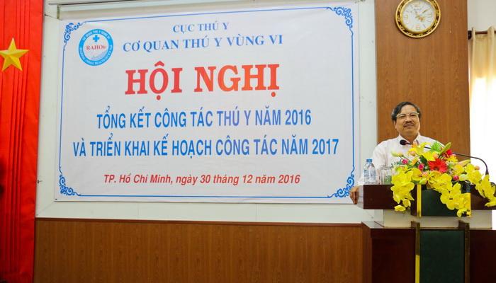 Hội nghị Tổng kết công tác Thú y năm 2016 – Triển khai kế hoạch công tác năm 2017
