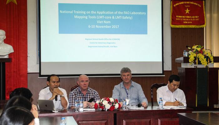 Tập huấn Quản lý phòng thí nghiệm (LMT) do FAO tổ chức